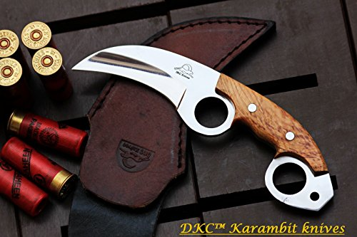 DKC-87-440c-OWL-FOX-Stainless-Steel-Skinner-Hunting-Knife-8Long-62oz-High-Class-Looks-Incredible-Feels-Great-In-Your-Hand-Hand-Made-DKC-Knives