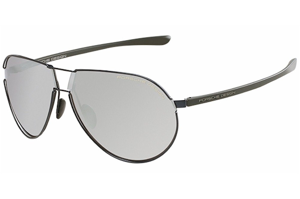 Porsche Design Mens P8617 P8617 A Light Gold Fashion Sunglasses 67mm
