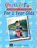 img - for Quick & Fun Learning Activities for 1 Year Olds by Mcghee Marla Pender (1996-08-01) Paperback book / textbook / text book