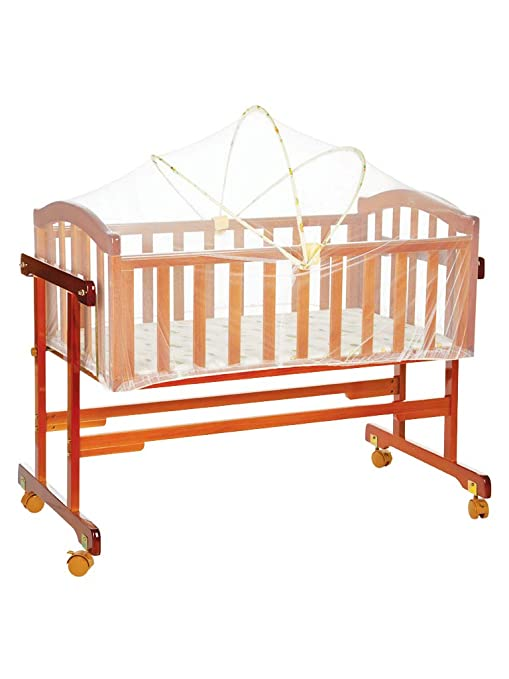 Buy Mee Mee Baby Cradle (with Swing and Mosquito Net 3f7a6da73
