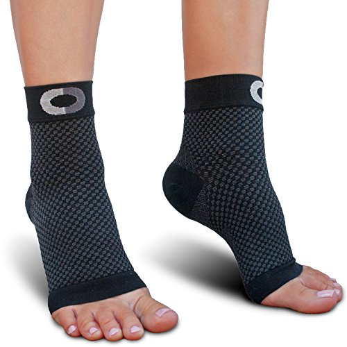 Plantar Fasciitis Socks with Arch Support - BEST Compression Foot Sleeves for Men & Women, Plantar Fasciitis Pain Relief, Better than Night Splint, Ankle Brace Support, Heel Spurs, Eases Swelling (Athletic Shoes Arch Support)
