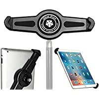 iShot G10 Pro Large Universal iPad Pro Tablet Tripod Monopod Mount Adapter Holder - Adjustable for All 8 to 13 Tablets With or Without a Case