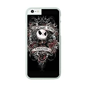 iPhone 6 Plus White Cell Phone Case The Nightmare Before Christmas KVCZLW2587 Clear Phone Case Covers Personalized