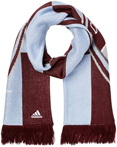 - MLS Colorado Rapids Adult Checkerboard Jacquard Scarf, One Size, Maroon/Blue