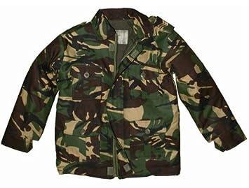 4b3e8e44b Highlander Combat Camouflage DPM Kids/Childrens Jacket - 7-8