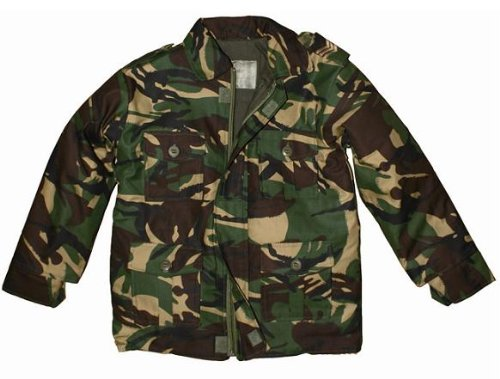e783a6b68 Highlander Combat Camouflage DPM Kids/Childrens Jacket - 7-8: Amazon.co.uk:  Sports & Outdoors