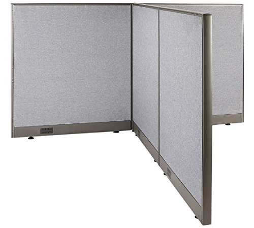 GOF T-Shaped Freestanding Partition 72d x 72w x 48h / Office, Room Divider by GOF