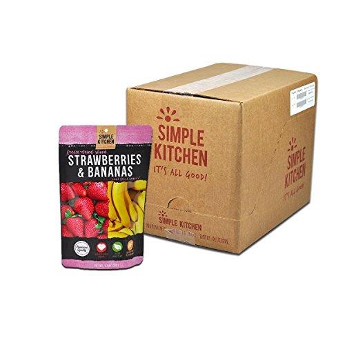 Simple Kitchen Strawberries & Bananas