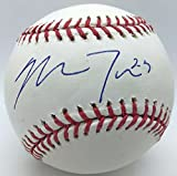 Mike Trout Rookie Signed Autographed OML Selig Baseball w/ Number PSA/DNA