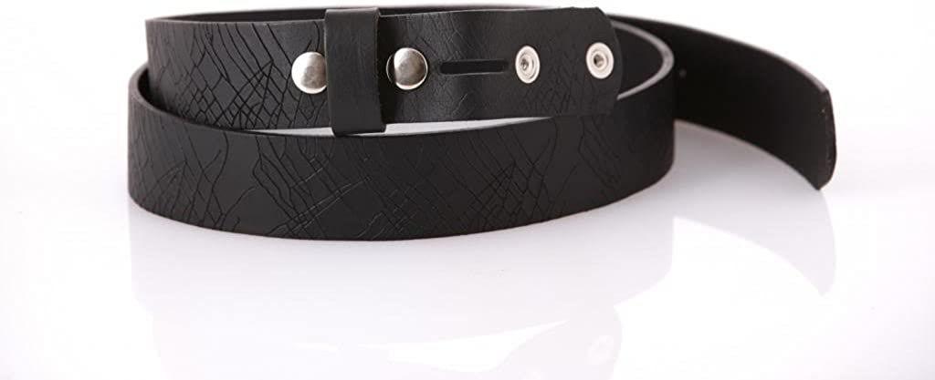 Mens Leather belt with Basic Bronze Buckle 1152
