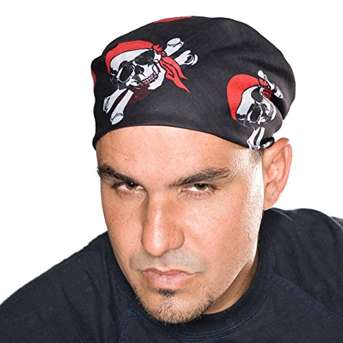 Pirate Skull Cross Bone Bandana