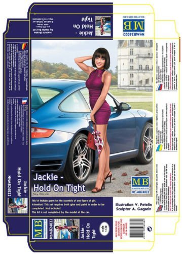 PRETTY NICE GIRL DANGEROUS CURVES, JACKIE - HOLD ON TIGHT 1/24 MASTER BOX 24022 ()