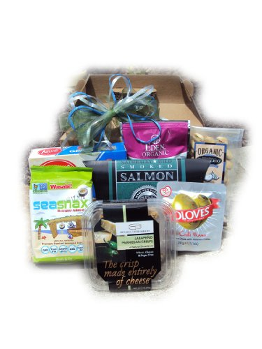 Diabetic Father's Day Healthy Gift Box (Fathers Day Baskets)