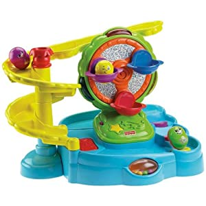 Fisher Price Topzy Tumblers Twirlin Tumblin Fun Park