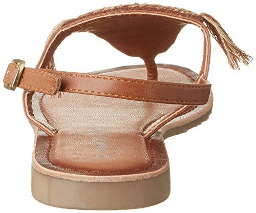 Marco Tozzi 28209, Sandalias Para Mujer Marrón (Cognac Comb 392)