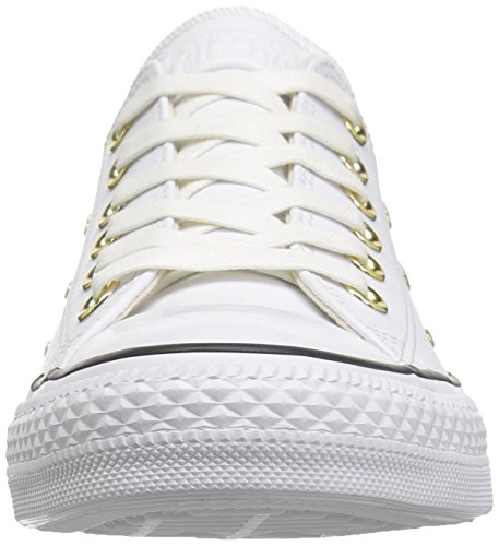 gold Ox Chaussures Ctas white De Femme Blanc Fitness Converse 102 white 1z7xqw65Z