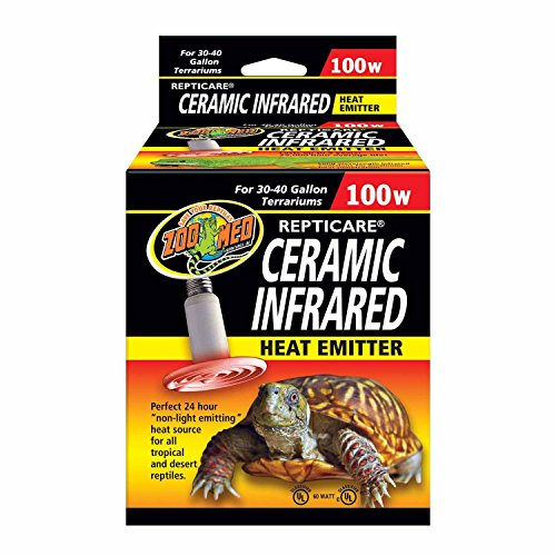 Zoo Med Ceramic Infrared Heat Emitter 100 Watts by Zoo Med