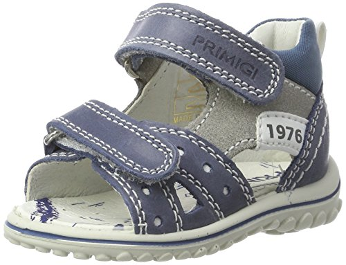 Primigi Psw 7560, Botines de Senderismo para Bebés Azul (Avio/grigio Ch.)