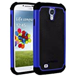 AERO ARMOR Protective Case For Samsung Galaxy S4 - Blue