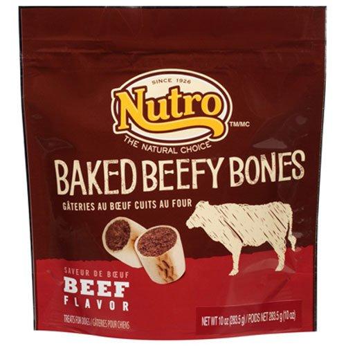 The Nutro Company Baked Beefy Bones, 10-Ounce