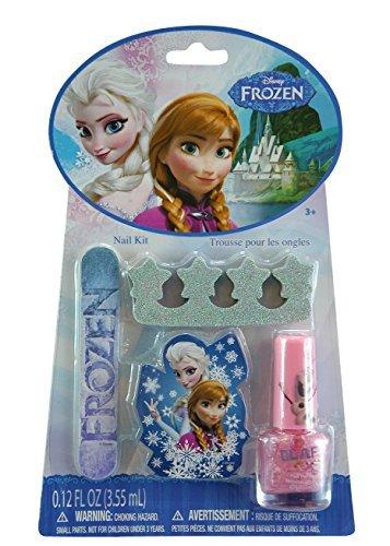 Disney Frozen Non-woven Nylon Sling Bag with Disney Frozen 20 Piece Hair Accessory Set, Disney Frozen Kiss It Paint It Makeup Kit and Disney Frozen Nail Kit by Disney (Image #3)