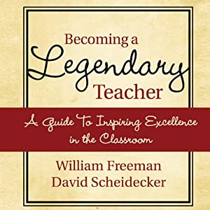 Becoming a Legendary Teacher Hörbuch