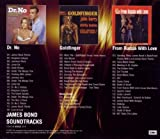Coffret 3 CD : James Bond Soundtracks : Dr No / From Russia With Love / Goldfinger