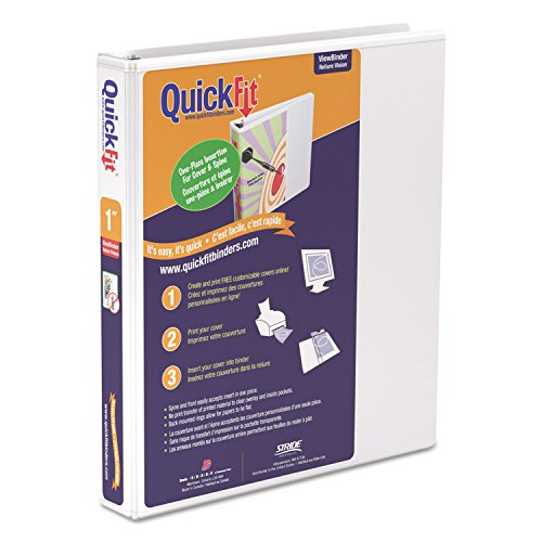 - STW87010 - Stride Quick Fit D-Ring View Binder