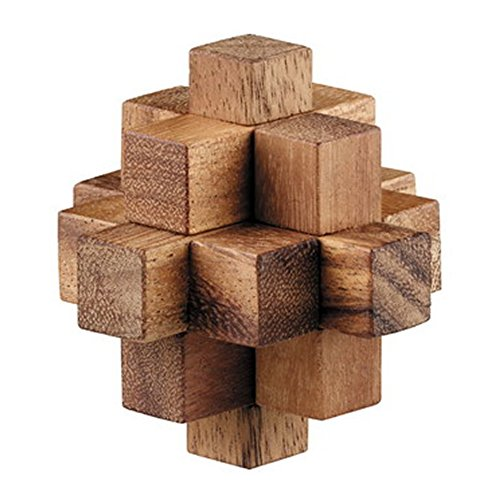 BRAIN GAMES Wooden Crystal Puzzle (Ps2 Chess)