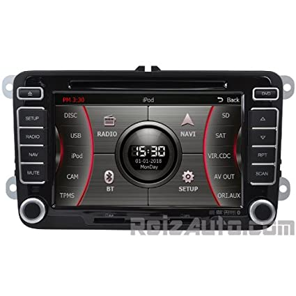 Amazon com: 2006-2014 Volkswagen Jetta Passat GTI In-dash GPS