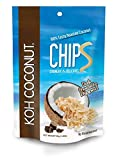 KOH COCONUT Coconut Chips 40g Al. Foil Bag 12 Pack (Chocolate)