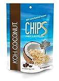 KOH COCONUT Coconut Chips 40g Al. Foil Bag 12 Pack (Chocolate)
