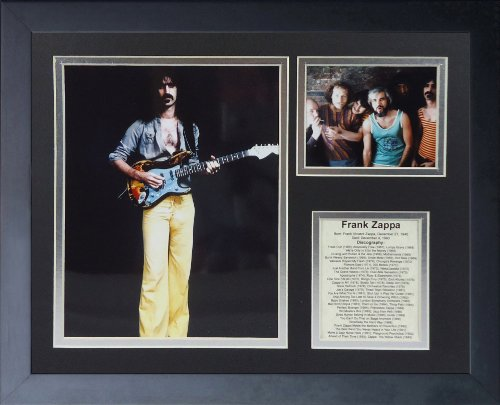 Legends Never Die Frank Zappa Framed Photo Collage, 11 by 14-Inch
