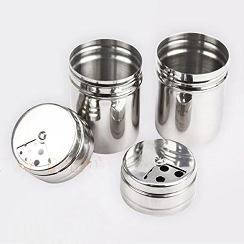 Campcookingsupplies Dynamic Outdoor Camping Picnic Stainless Steel Spice Shaker Jar Salt Pepper Toothpick Storage For Picnic Bbq Camping Tableware Equipment Ample Supply And Prompt Delivery Camping & Hiking