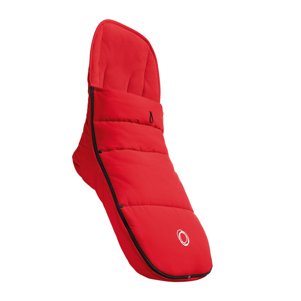 Bugaboo Footmuff - Red - One Size