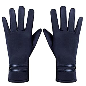 GLOUE Women's ScreenTouch Gloves Warm Weather Lined Thick Touch Warmer Winter Glove (1)