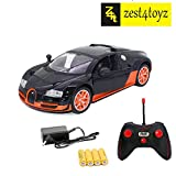 Zest 4 Toyz Remote Controlled Bugatti with Opening Doors and Flashing Lights