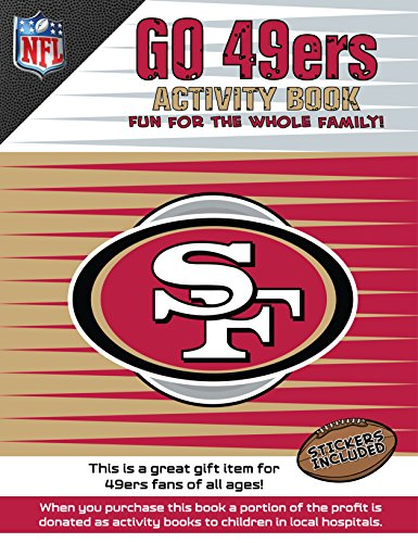 In The Sports Zone NFL San Francisco 49ers Activity Book/Red/Gold/One Size (Best Activities In San Francisco)