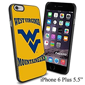 NCAA WEST VIRGINIA MOUNTAINEERS Cool Case Cover For Apple Iphone 5/5S Smartphone Collector iphone PC Hard Case Black