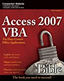 Access 2007 VBA Bible, Helen Feddema, 047004702X