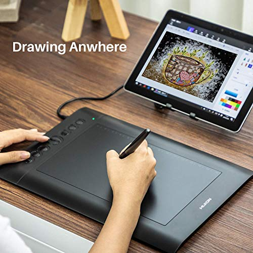 Huion H610PRO V2 10 x 6 25 inch Graphics Drawing Tablet with