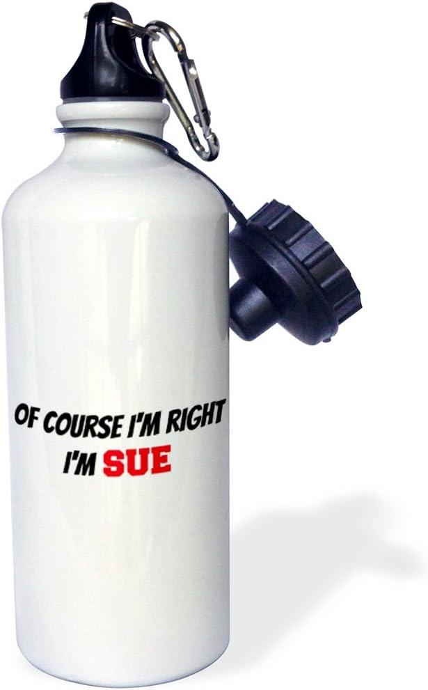 wb/_218493/_1 21 oz Multicolor 3dRose Course Right 21oz Im Sue-Sports Water Bottle