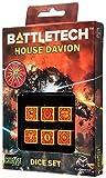 Battletech House Davion D6 Dice set (6) by Q-Workshop