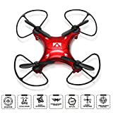 #10: Mini RC Quadcopter, Mini RC Drone, eBoTrade 2.4Ghz 4CH 6-Axis Gyro UFO RC Quadcopter Drone for Kids & Beginners with 3D Flips, Headless Mode, One Key Return, Full Protectors, H/L Speed (Red)