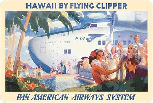 - Pacifica Island Art Vintage Postcard Set (30) - Hawaii Clipper Pan Am by Lawler