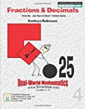 Fractions & Decimals Math Worksheets - 3rd, 4th, 5th Grade (Just Turn and Share, Volume 4)