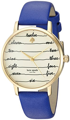 kate spade new york Women's Metro Blue Watch KSW1238