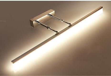 Bad Spiegelleuchten LED-Badezimmer-Spiegel-Lichter, einziehbares Arm ...