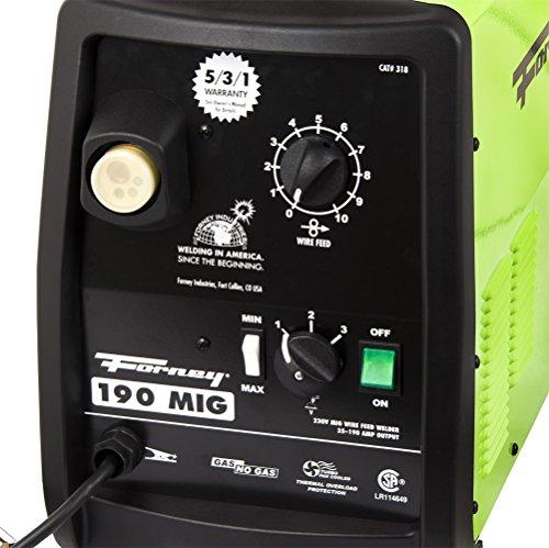 Forney 318 190-Amp MIG Welder, 230-Volt
