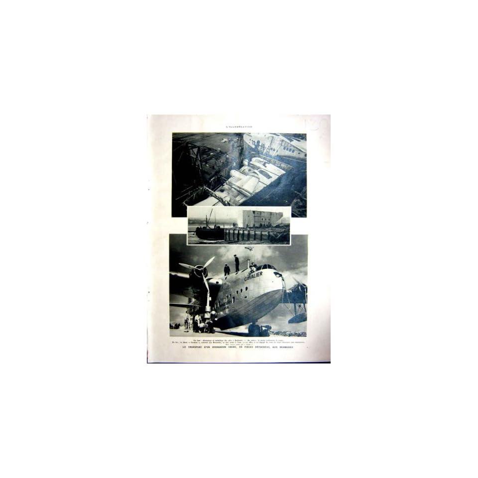 Transport Sea Plane Rochester Victoria Falls 1937
